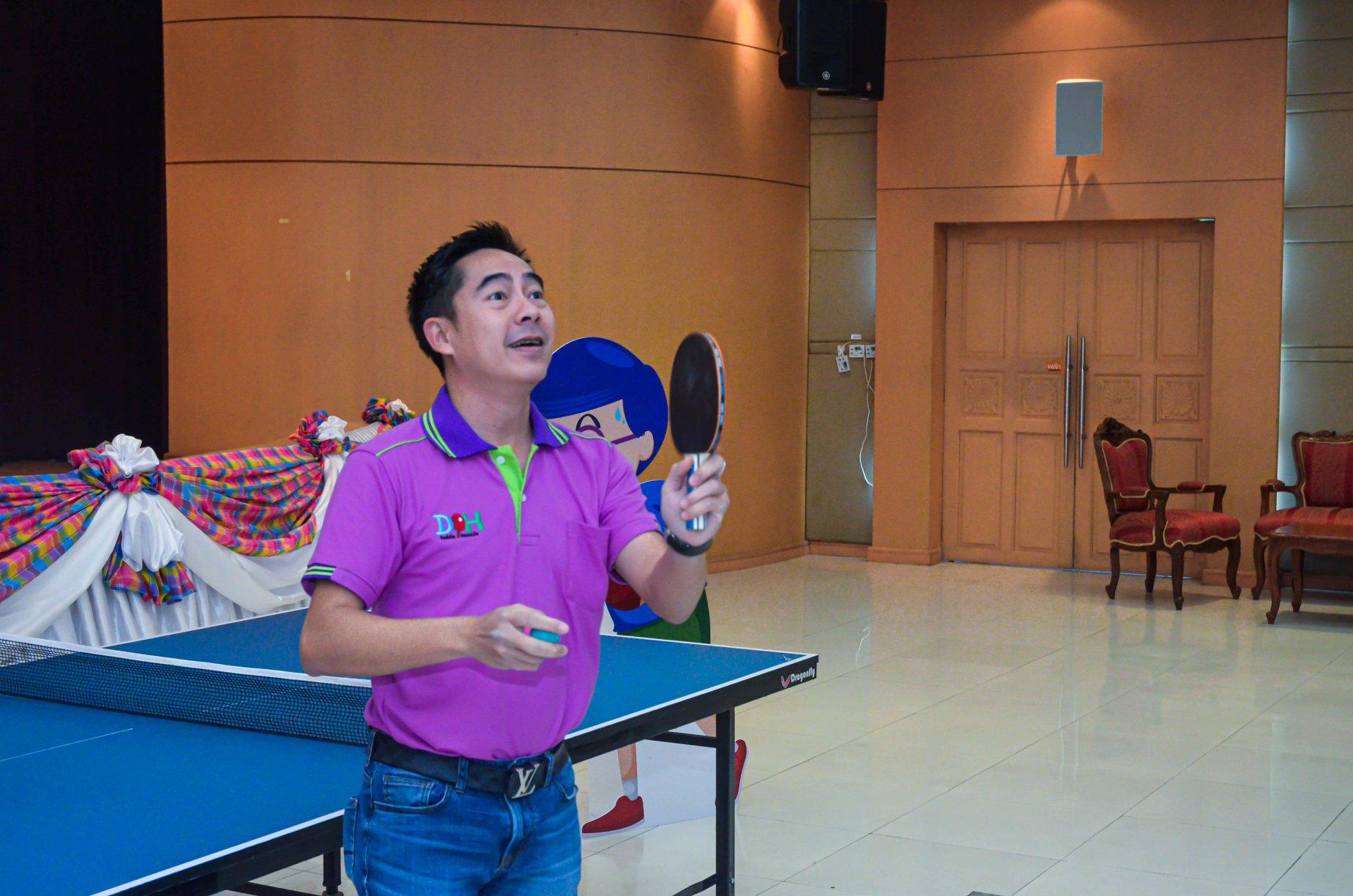 การแข่งขันเทเบิลเทนนิส